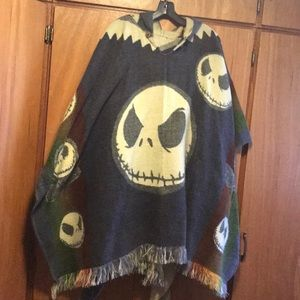 Jackets & Blazers - Nightmare Before Christmas poncho